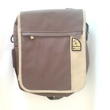 AG2 - Women Men's Delsey cross body Olive Kakhi messenger bag schoolbag Backpack