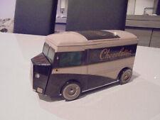 CITROEN H HY CHOCOLATIER - BOITE A GATEAUX METAL BOX VAN TUBE CAMION