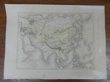 CARTE ANCIENNE OLD MAP circa. 1860 Gaume Freres & Duprey : EMPIRE DES MONGOLS