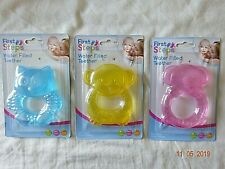 Fun /& Friendly First Steps Water-Filled Butterfly Rattle Teether