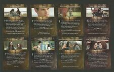 Taylor Lautner Kristen Stewart  Red Truck Motorcycle Twilight Saga Fab Card LOT