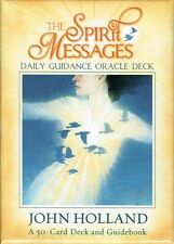 The Spirit Messages Daily Guidance Oracle Deck by John Holland New & Sealed