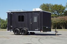 In Stock All Aluminum 7 X 14 V Nose Off Road Baja Trailer w Electrical - Awning