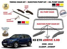 FOR BMW X5 XDRIVE 30D 2008-> TIMING CHAIN + INJECTION PUMP + OIL PUMP CHAIN KIT