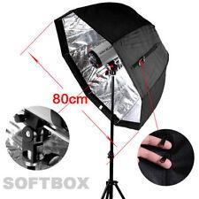 80cm/32in Octagon Softbox Brolly Reflector Umbrella Soft Box fr SpeedLight/Flash
