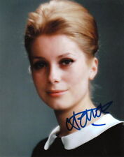 CATHERINE DENEUVE.. Breathtaking International Beauty - SIGNED