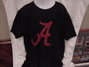 SWEET Alabama Crimson Tide Youth Sz Sm Black Short Sleeve Dri-Fit Shirt, NICE!!