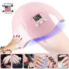 54W UV LED Nail Lamp Dryer Gel Polish Curing Light With 3 Timer LCD Display
