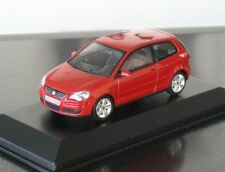 VW POLO 4 9N3 Minichamps in 1:43 Sunset Red Metallic