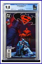 Superman Batman #17 CGC Graded 9.8 DC March 2005 White Pages Comic Book