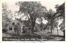 Eliot Maine The Locusts on the River Road Real Photo Antique Postcard J66038