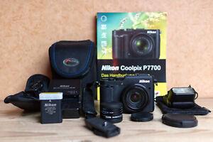 Nikon Coolpix P7800 Digitalkamera KOMPLETTPAKET + SPEEDLIGHT SB-300   +++ *TOP*