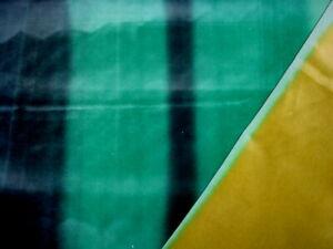 Zoffany Harlequin 131508 Zest Lagoon Inidgo Ombre Velvet Upholstery Fabric
