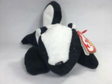 Stinky the Skunk 1995 Vintage Beanie Babies Original Retired w//Tags PE Pellets