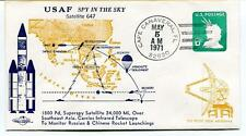1971 USAF Spy in the Sky Satellite 647 Superspy Southeast Asia Russia China NASA