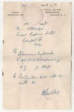 Vintage Boots LONDON ENGLAND Prescription ALUMINUM HYDROMIDE UK Liverpool