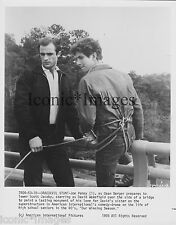 ORIGINAL 1978 PHOTO- DAREDEVIL STUNT- JOE PENNY- SCOTT JACOBY