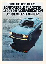 1973 Volvo 142 2-door Color - Classic Car Advertisement Print Ad J87