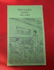 Mit Goethe durch das Jahr - Kalender für das Jahr 1979 , Artemis Verlag , TB ,