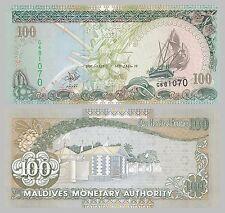 Maldives / Malediven 100 Rufiyaa 2000 p22b unc.