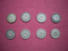 More details for george vi silver threepence 3d 1937 to 1944 (rare) choose your date