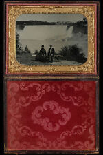 715045 à Niagara Falls Circa 1865 Photo George HOLLISTER 147956 A4 papier photo
