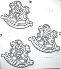 Rocking Horse Santa Claus Chocolate Candy Mold Christmas 2119 NEW