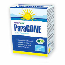 *Renew Life Paragone Kit 30 Natural Parasite Infection Cleanse Herbal Remedy
