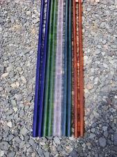"""Glass Blowing Bor0 12-2 pyrexTubing, Amber,Green, cobalt,Purple, Teal 24"""" each"""