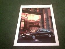 May 1989 FORD SCORPIO inc CL / GL / GHIA / 4x4 - GERMAN MARKET BROCHURE Granada