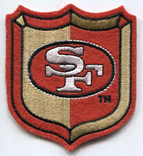 "SAN FRANCISCO 49ERS NFL FOOTBALL 3.25"" SHIELD PATCH"