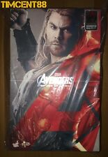 Ready! Hot Toys Marvel Avengers Age of Ultron 1/6 Thor AOU App Chris Hemsworth