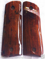 1911 right-hand TARGET GRIPS 4 COLT FULL SIZE KIMBER LES BAER COCOBOLO ROOT Z-57