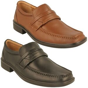 MENS PADDERS ASHFORD SMART CASUAL SLIP ON MOCCASIN SOFT LEATHER SHOES SIZE