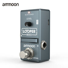 Nano Loop Electric Guitar Effect Pedal Looper True Bypass 10 Min Recording USB