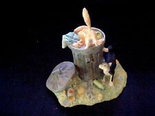 Schmid Lowell Davis Fox Fire Farm Cat figurine Bottom's Up 1986 no box