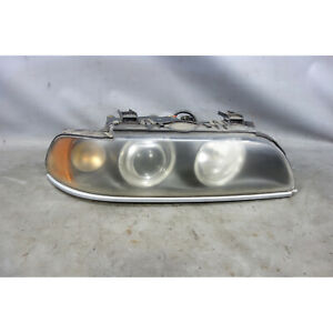 2001-2003 BMW E39 5-Series Late Model Right Front Halogen Headlight Lamp White