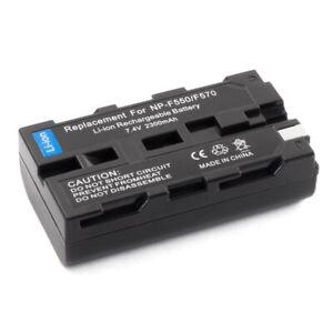 Battery for Sony NP-F550 NPF550 Handycam CCD-TRV65 CCD-TR517 CCD-TRV43 CCD-TRV57