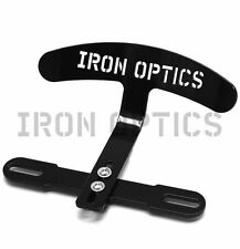 "Harley Davidson Sportster solo sede respaldo logotipo/negro ""Iron Optics"""