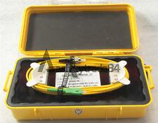SC APC Single Mode 9/125um 1310/1550nm 1KM OTDR Launch Cable Box Ring
