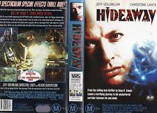 HIDEAWAY - Jeff Goldblum - VHS - PAL - NEW - Never played! - Original Oz release