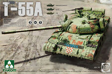 1/35 Soviet T-55A MBT (3-in-1 Russia, Iraq, DDR) new 2016 release - Takom #2056