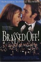 BRASSED OFF Original Movie Poster - Orchestra Double Sided 27x40 - Ewan McGregor