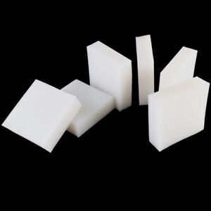 White Silicone Rubber Sheet Pad 50x50mm 100x100 200x200 300X300mm Thick 5mm~50mm