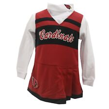 Arizona Cardinals Official NFL Youth Kids Girls Size 2-Piece Cheerleader Outfit