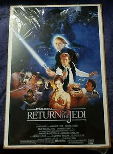 Star Wars Return of the Jedi Movie Poster metal tin sign/wall plaque