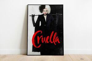 Cruella Movie Poster Wall Art Maxi Prints New Films Disney 2021 - 1912