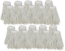 More details for kentucky mop head 16oz replacement commercial cotton heavy duty large 20 pack