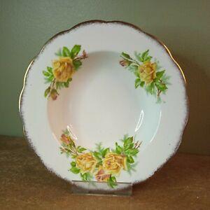 Vintage and Rare Pattern, Royal Albert 'Tea Rose' Rimmed Soup Bowl Rd #839056