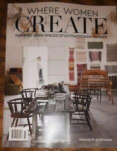 WHERE WOMEN CREATE Magazine ~ Inspiring Work Spaces of Extraordinary Women